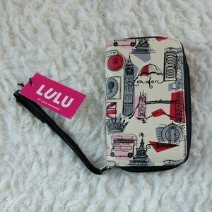 LULU by Lulu Guinness London Phone Wristlet